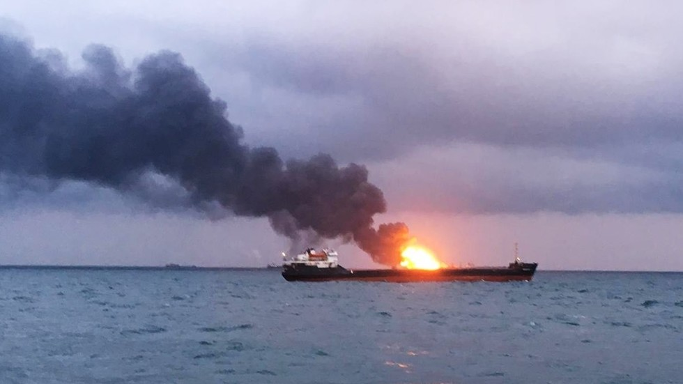 10 die as ships with Indian crew catch fire off Russia