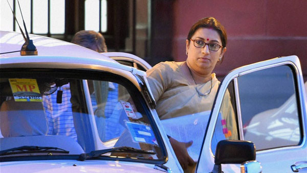 Education policy to be within parameters of constitution: Smriti Irani