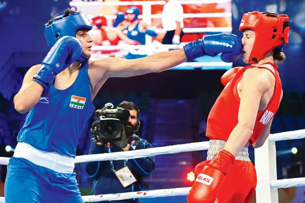 Women's Boxing Championships: Sonia wins with row