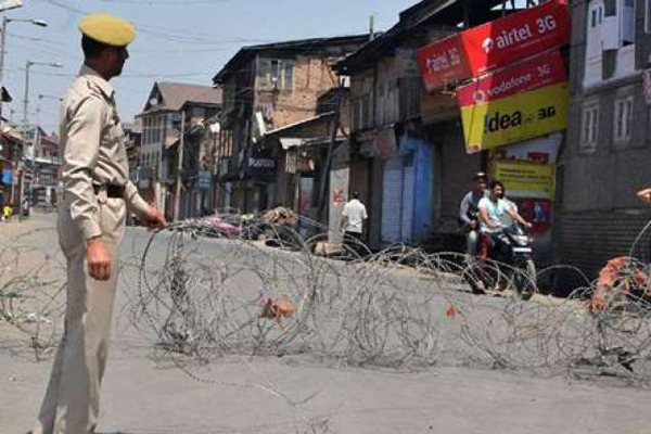 Restrictions to prevent Lal Chowk march in Srinagar