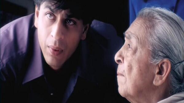 Yet to meet a naughtier young girl: SRK on centurian Zohra