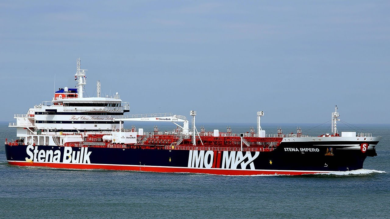British-flagged tanker sets sail after Iran release