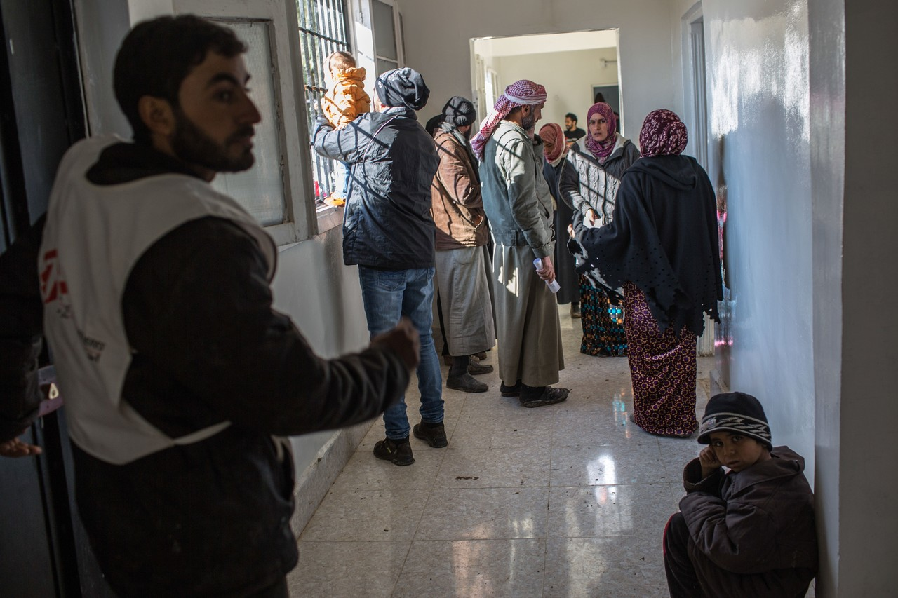 In north Syria, skin disease ravages young and old