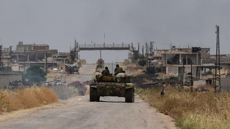 Damascus forces surround Turkish army post: Monitor