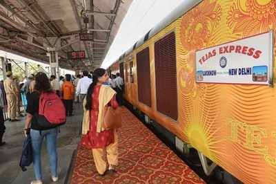 IRCTC to pay Rs 1.62 lakh compensation for late running of Tejas Express