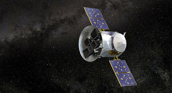 NASAs TESS probe spots black hole tearing apart a star