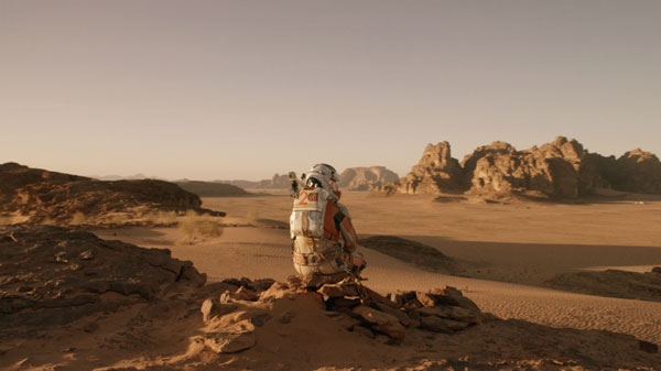 The Martian sits atop North American box office