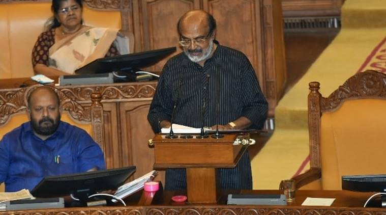 Kerala FM begins budget presentation with anti-CAA remarks