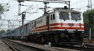Court officials attempt to attach train engine for non-payment of compensation