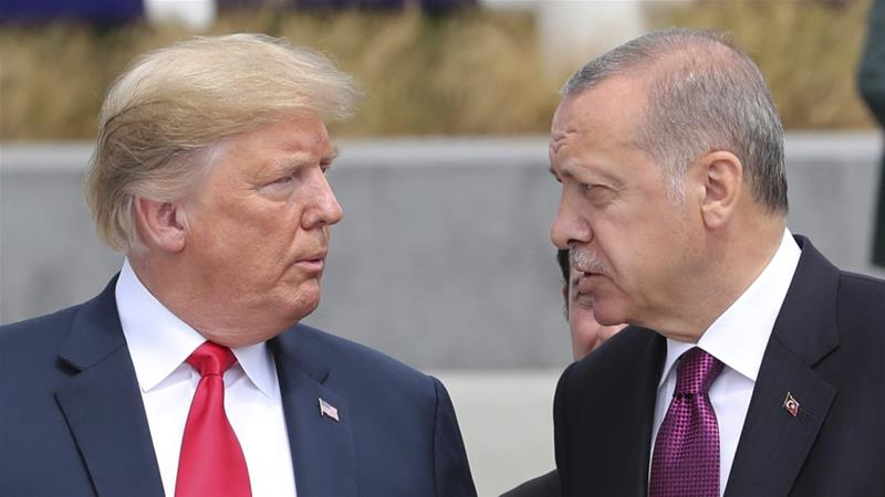 Trump big fan of Erdogan, defends him against outraged Congress