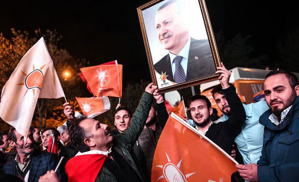 Turkeys ruling party wins snap elections