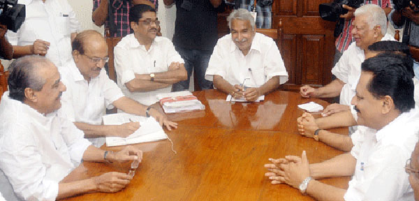 Rajya Sabha polls: Chandy to hold talks with UDF partners