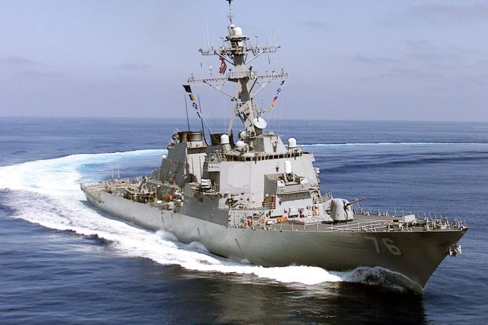 US sails two warships close to disputed islands in South China Sea; angers Beijing