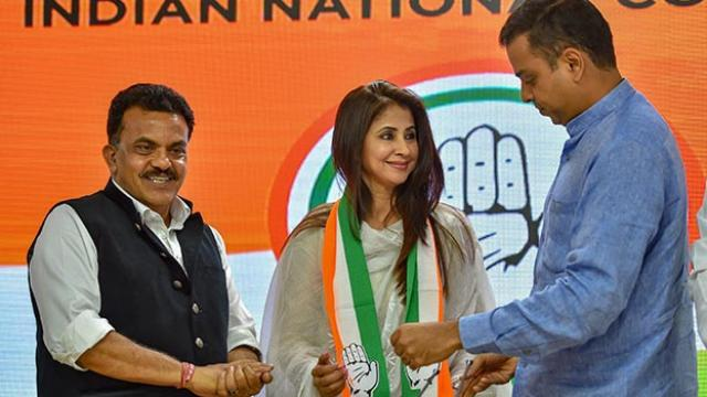 Actor Urmila Matondkar meets Rahul Gandhi, joins Congress