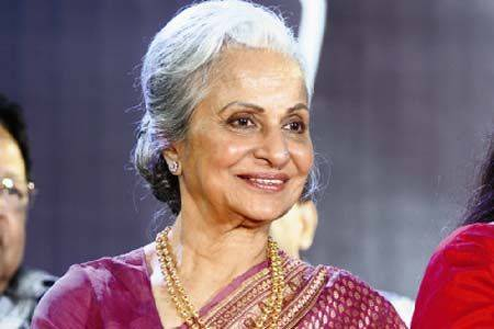 Waheeda Rehman to receive first Centenary Film Award at IFFI