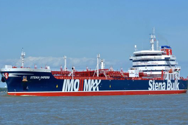 Waiting for crew details of oil tanker seized by Iran: Minister