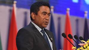 Maldives ex-president appears in court on laundering charges