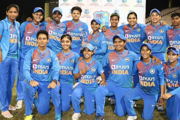 Spinners help India women complete T20I series sweep over WI