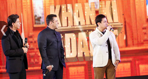 A film with all three Khans would be exciting: Aamir