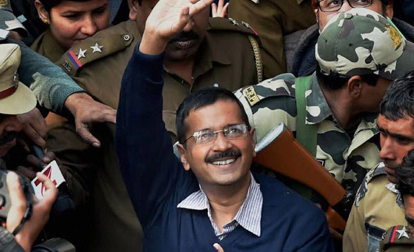 Exit polls predict AAP win after record voting