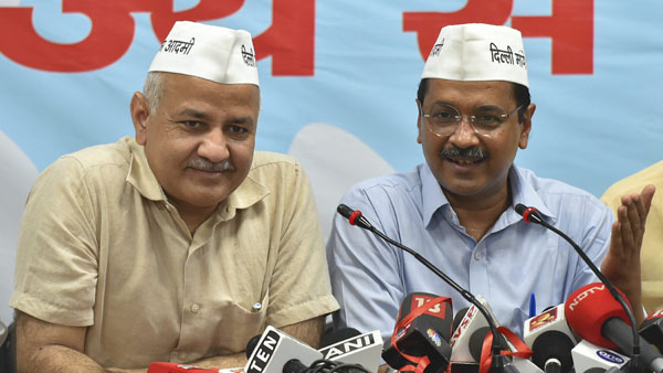 With full statehood promise, AAP releases Delhi manifesto