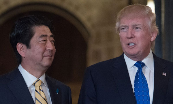 US to boost military defence against N Korea: Trump tells Abe