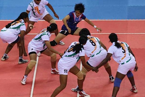 Indian womens kabaddi team in final