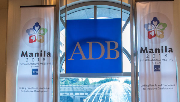 India biggest recipient of funds from ADB last year