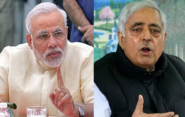 Mufti meets Modi, briefs him about Kashmir situation