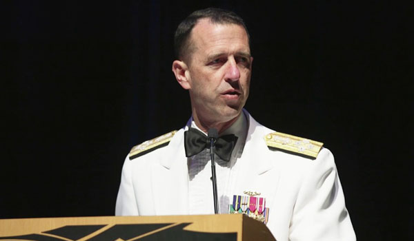 US navy chief does not want China tensions to boil over