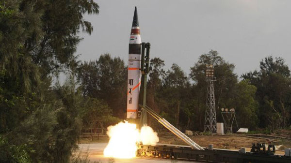 India tests n-capable Agni-IV missile