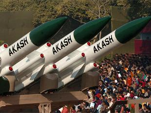Akash missile test-fired
