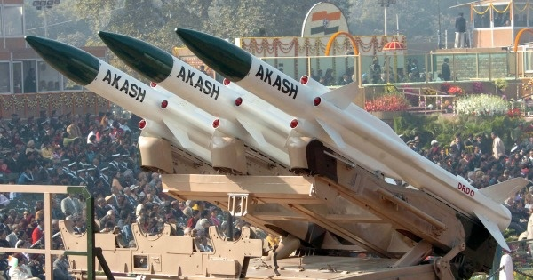 Indigenously-built Akash missile inducted in IAF