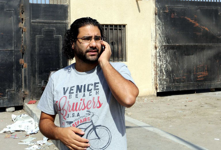 Egyptian pro-democracy activist free after 5 years in prison