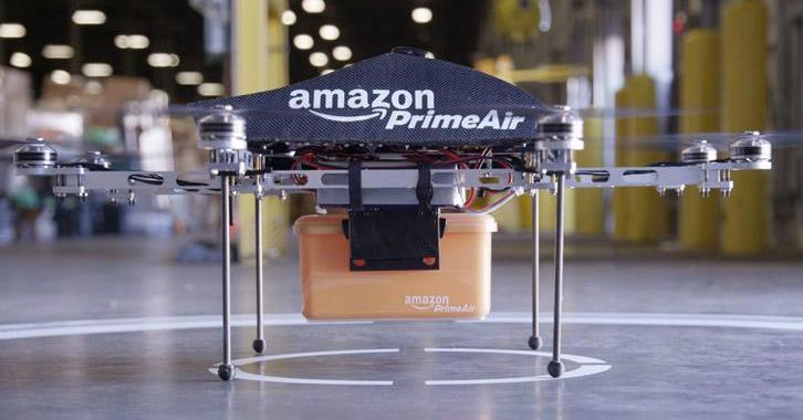 Amazon plans doorstep delivery by drones