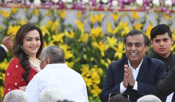 Ambani, Tata and other corporate honchos attend PMs oath ceremony