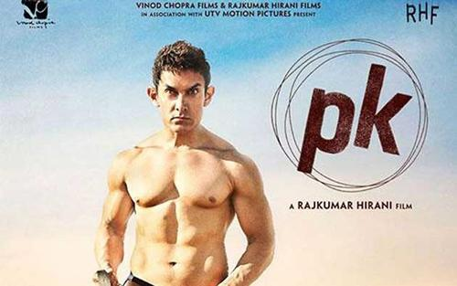 Aamirs PK poster leaves fans, friends guessing