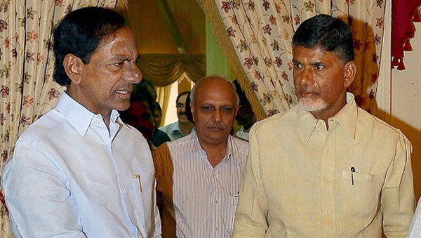 Andhra, Telangana CMs in war of words over audio tape