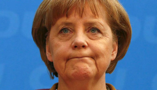 Refugees must return home once conflicts over: Merkel