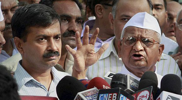Best wishes to you, Hazare tells Kejriwal