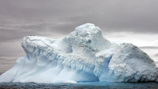Melting Antarctic ice sheet raising sea-level faster