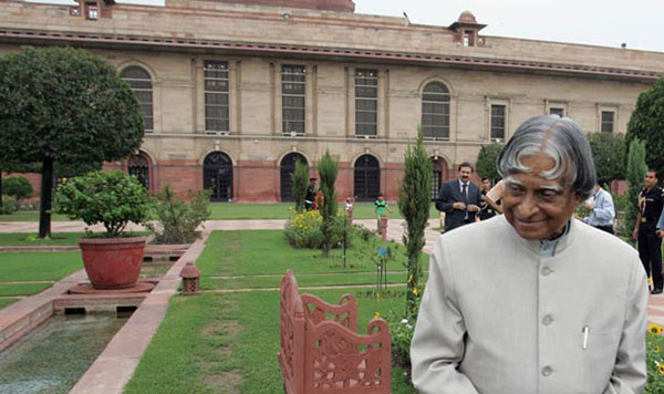 When Abdul Kalam refused to sit on the Presidents chair at an event
