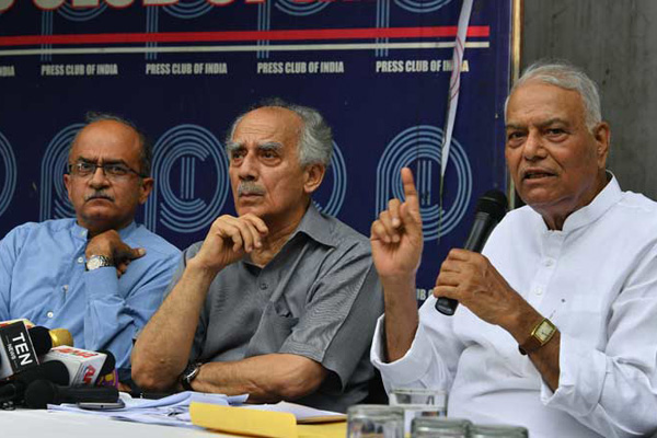 Yashwant Sinha, Arun Shourie, Prashant Bhushan move SC seeking FIR into Rafale deal