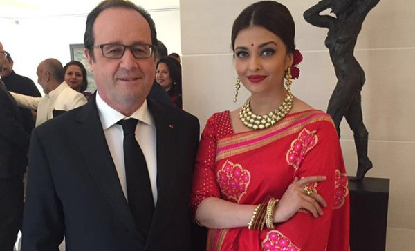 Aishwarya talks films, Cannes and more with Hollande