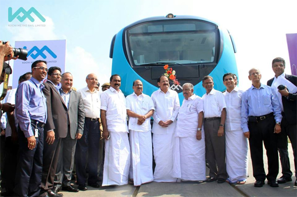 Kochi Metro coaches handed over to Kerala