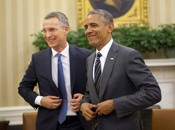 NATOs chief to meet Obama next month