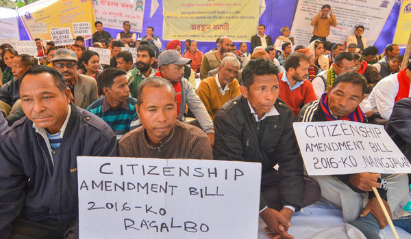 Protests continue in Assam against Citizenship Bill