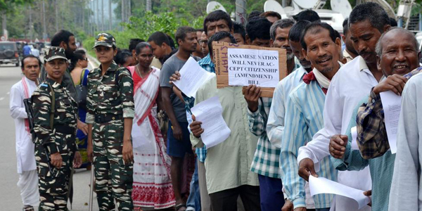 Thousands take part in protests against Citizenship Bill in Guwahati