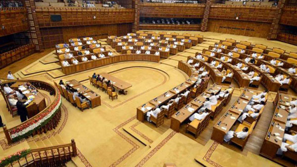 Assembly adjourned amid LDF protest