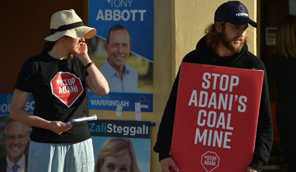 Australians vote to elect PM in climate-dominated election